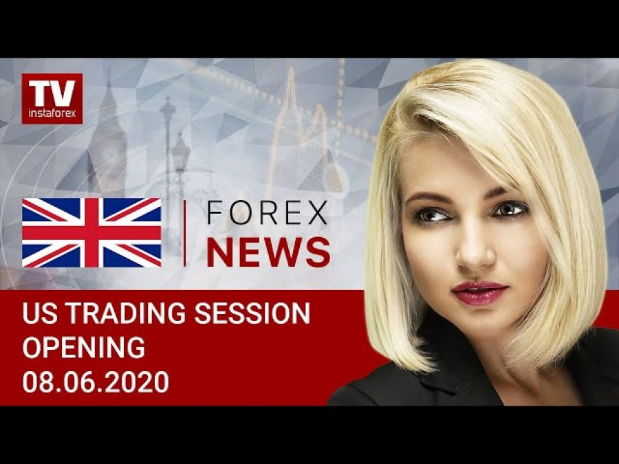 08.06.2020: Market focuses on Fed's meeting (USDХ, DJIA, WTI, USD/CAD)